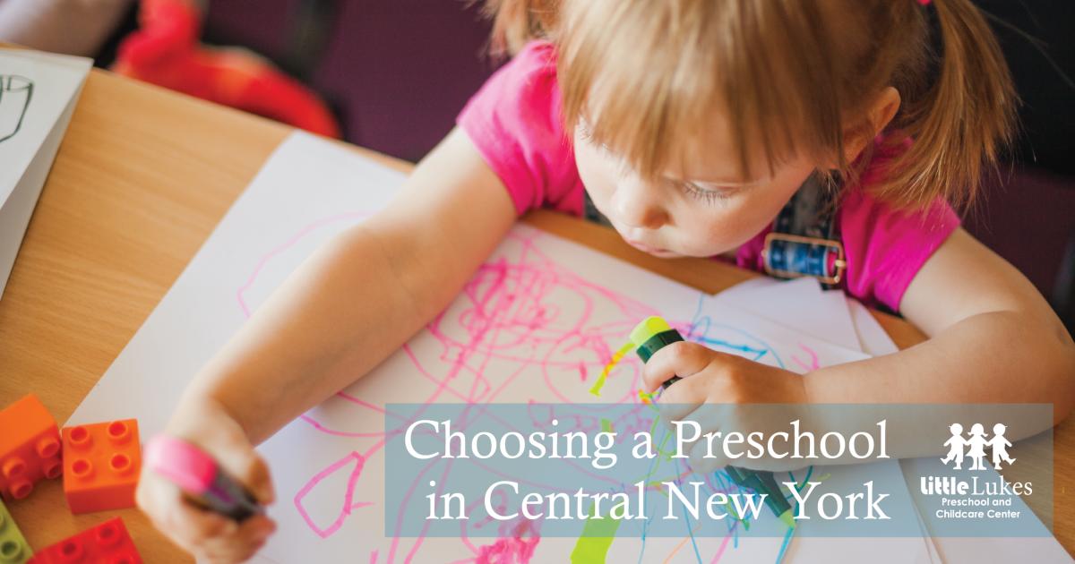 Choosing a Preschool Program in Central New York