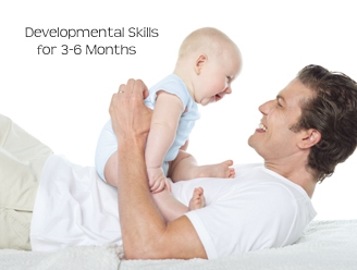 Developmental Skills for 3-6 Months