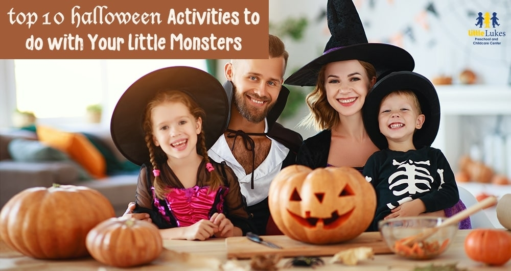 Top 10 Halloween Activities to do with Your Little Monsters