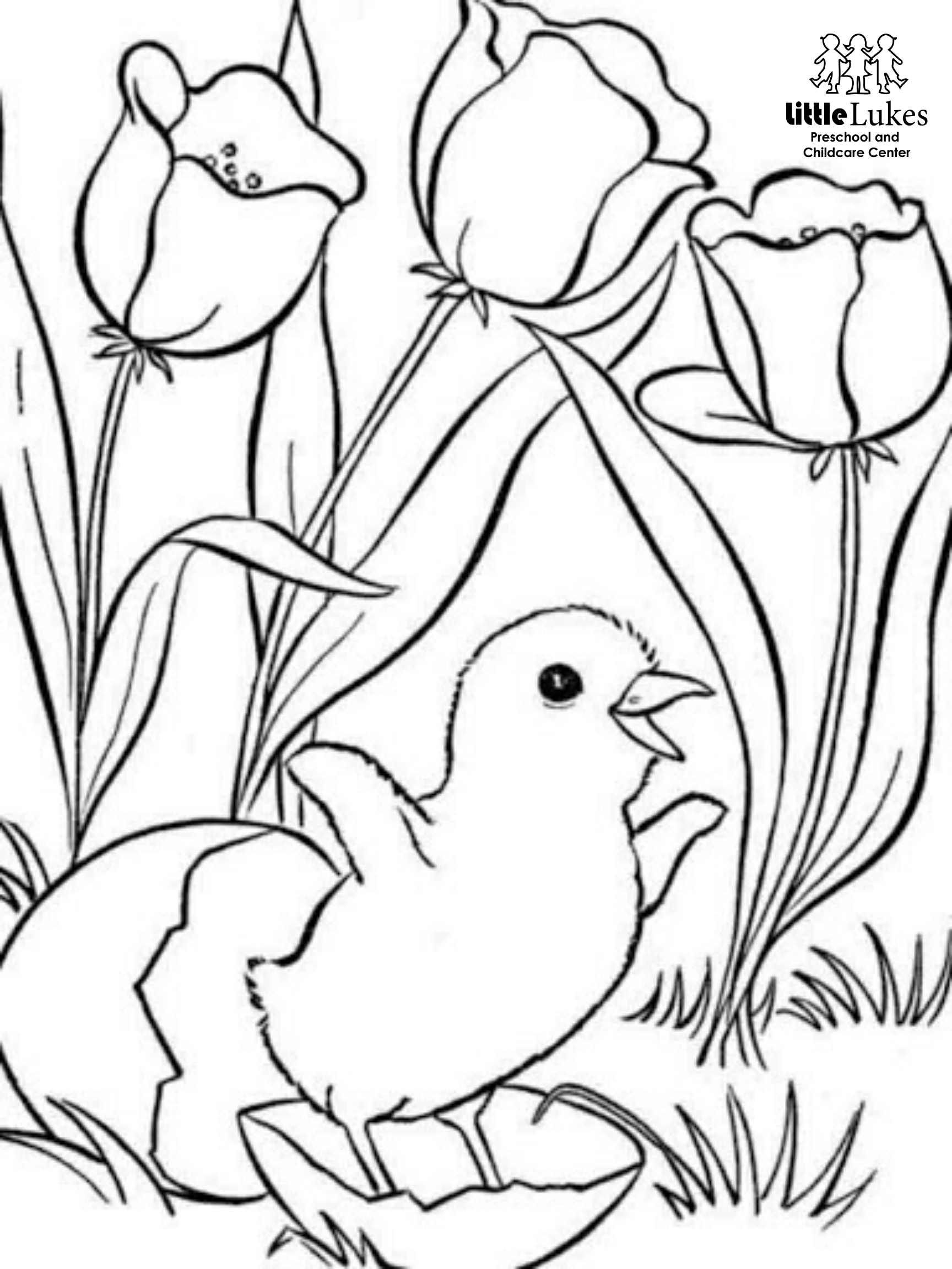 4 Beautiful Spring Coloring Pages for Adults | FaveCrafts.com | 2304x1728