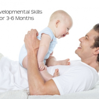 Developmental Skills for Babies 3-6 Months Old