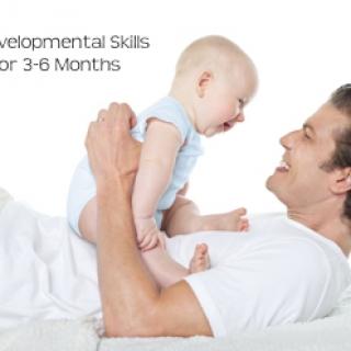 Developmental Skills for Babies 3-6 Months Old