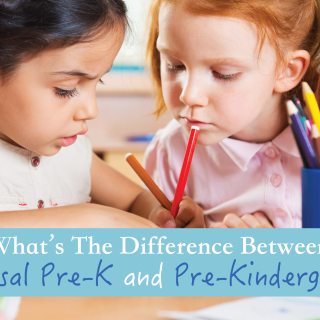 What's The Difference Between Universal Pre-K and Pre-Kindergarten?
