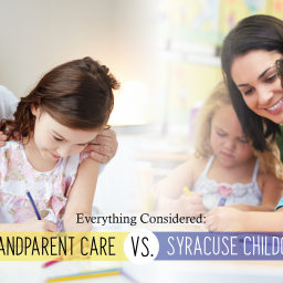 Everything Considered: Grandparent Care vs. Syracuse Childcare Provider
