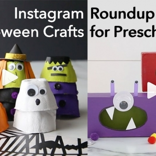 Instagram Roundup: 5 Halloween Crafts for Preschoolers