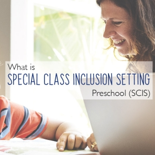 What is Special Class Inclusion Setting Preschool (SCIS)
