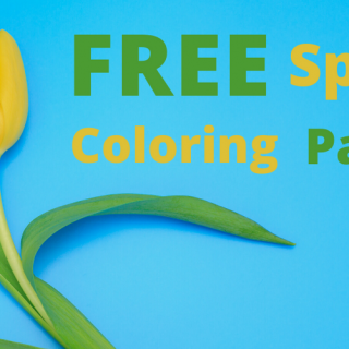 FREE Spring Coloring Pages!