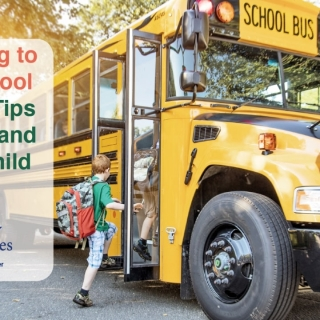 Adapting to the School Bus: 4 Tips for You and Your Child