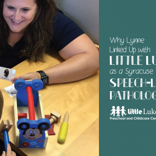 Why Lynne Linked Up with Little Lukes as a Syracuse Speech-Language Pathologist