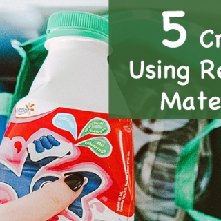 5 Preschool Activities Using Recycled Materials