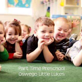Part Time Preschool at Oswego Little Lukes