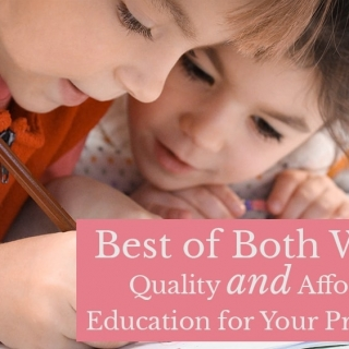 Best of Both Worlds: Quality and Affordable Education for Your Preschooler