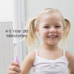 Developmental Skills for 4-5 Years